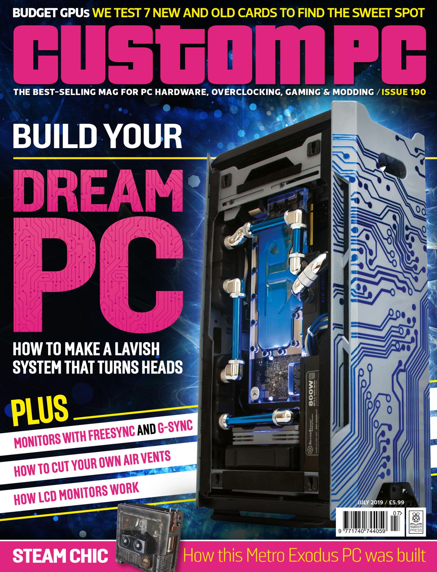Get the new-look Custom PC magazine for free! - Raspberry Pi