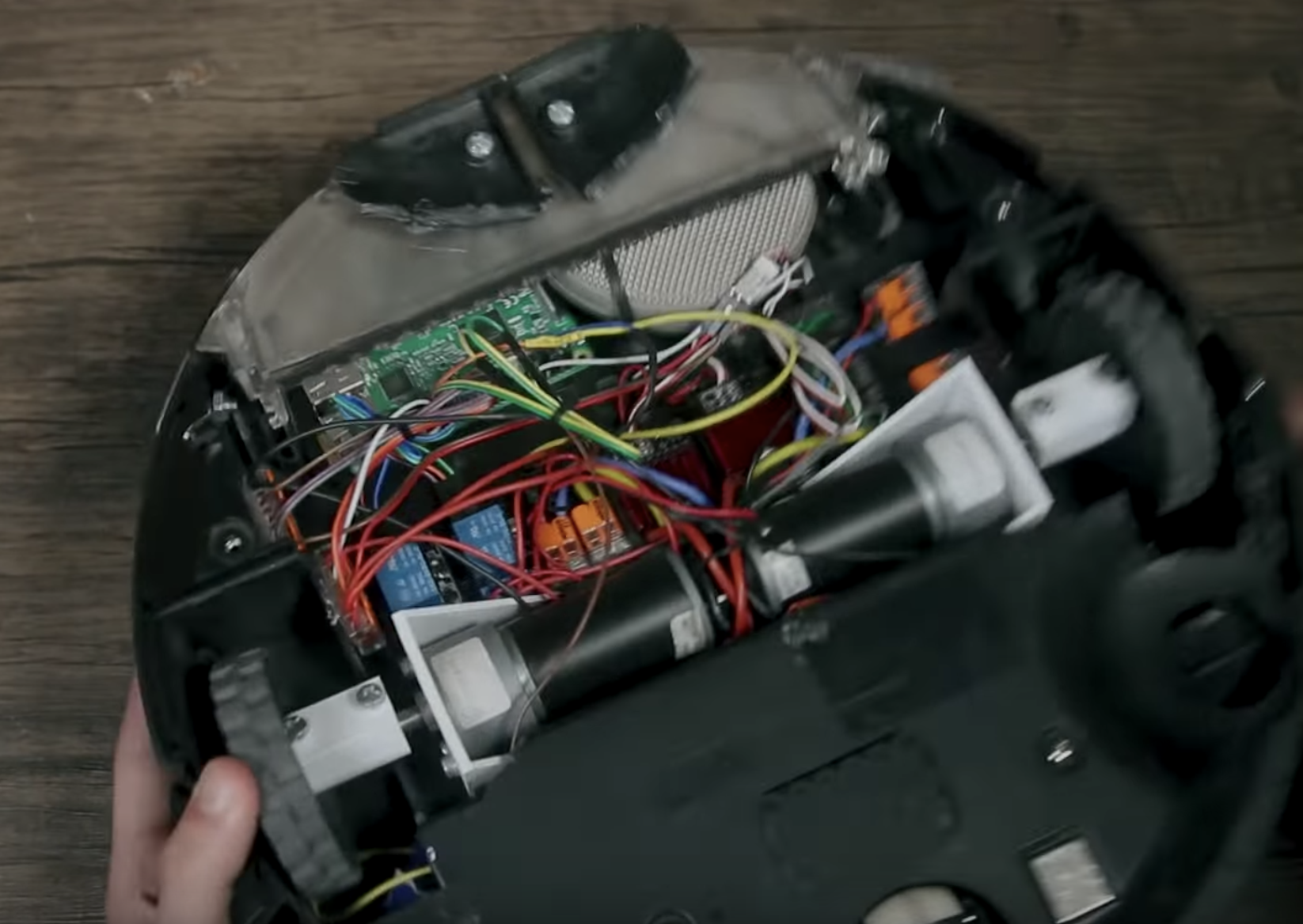 The NSFW Roomba that screams when it bumps into stuff
