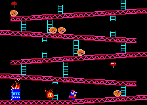 Make A Donkey Kong Style Walk Cycle Wireframe Issue 14