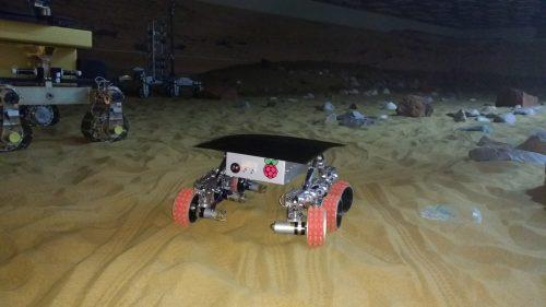The Yuri 3 Mars rover