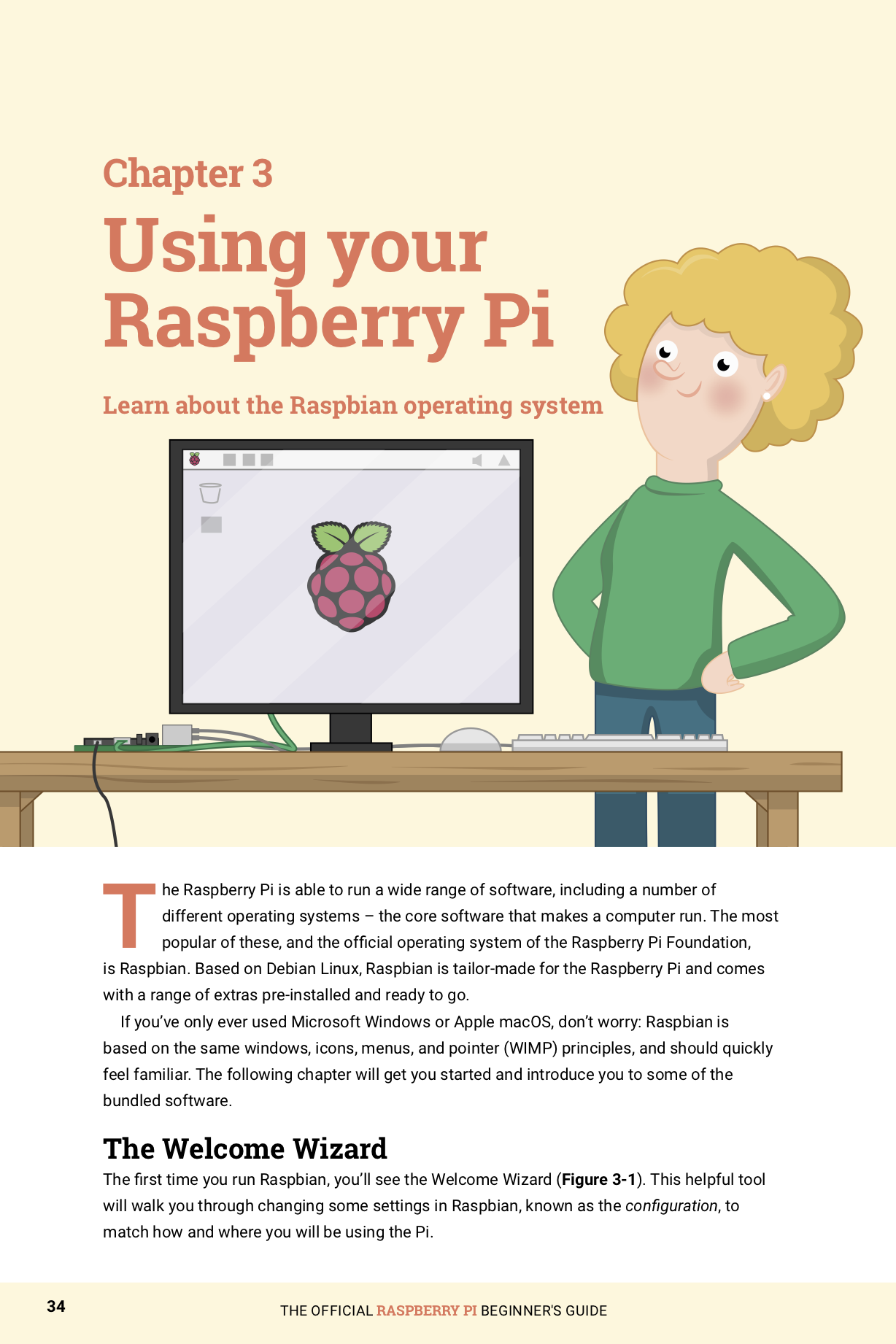 buy popular fde6a 0af55 From setting up your Raspberry Pi on day one to taking your first steps  into writing coding, digital making, and computing, The Official Raspberry  ...