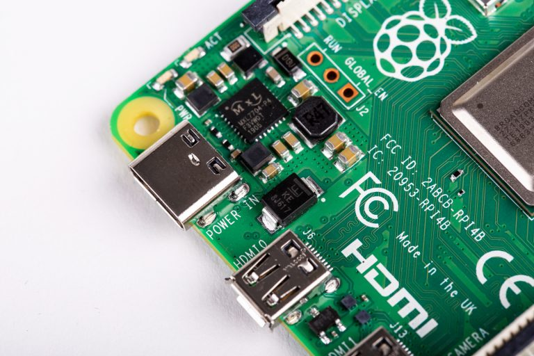 nuova raspberry pi 4 usb c