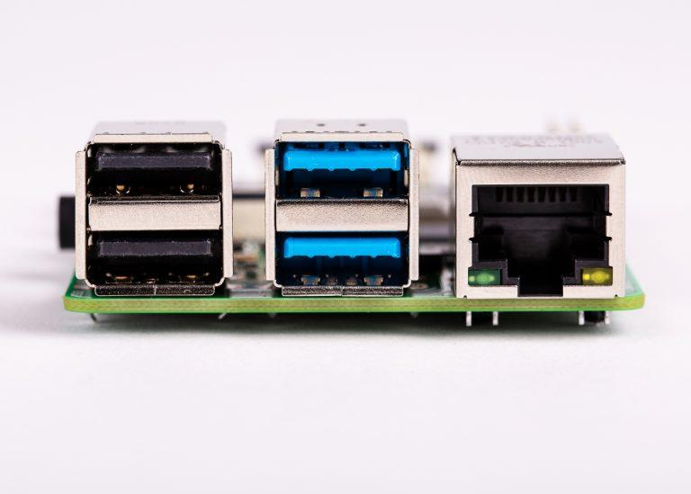 Nuova raspberry Pi 4 USB 3.0 e Gigabit ethernet