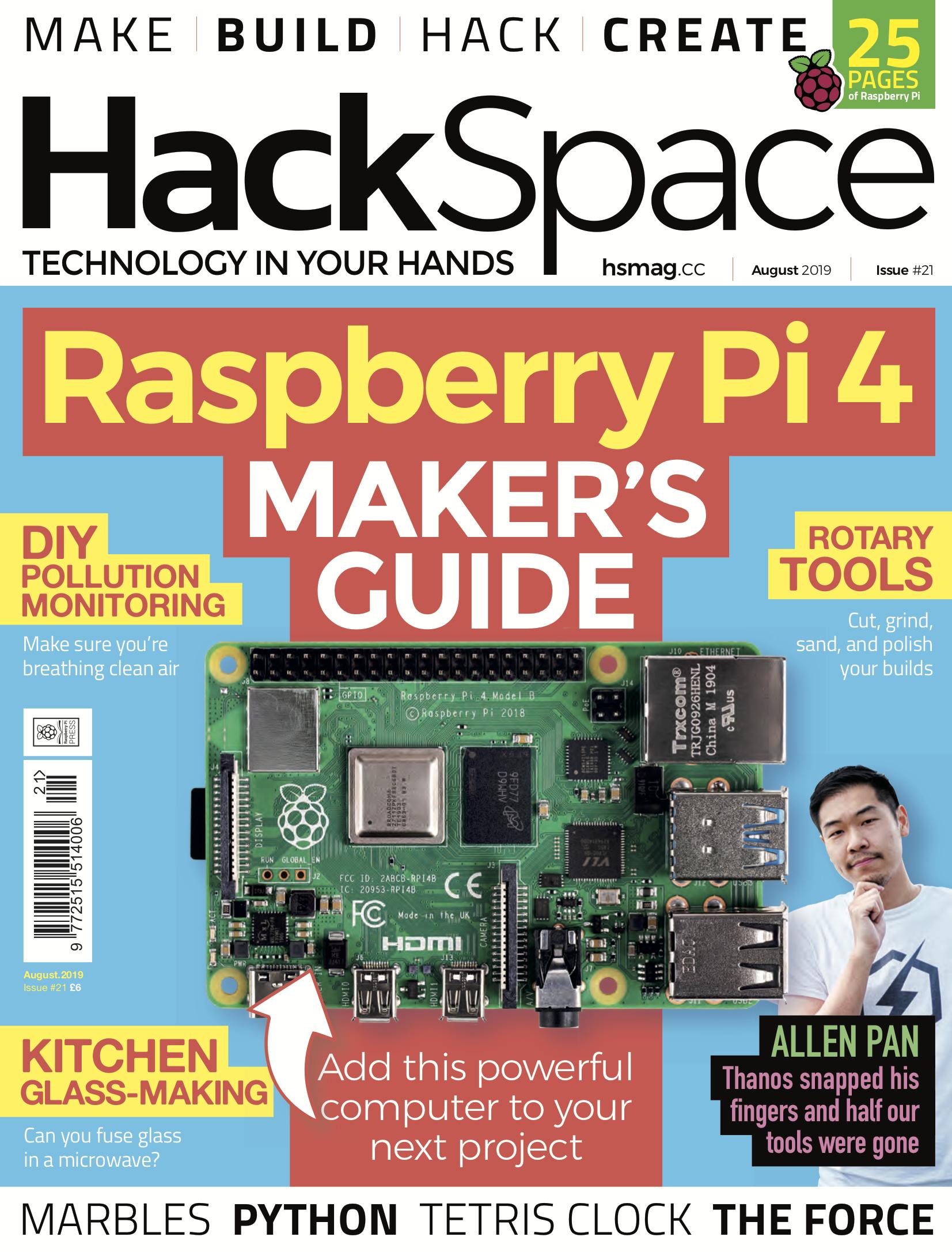 Monitor air quality with a Raspberry Pi - Raspberry Pi