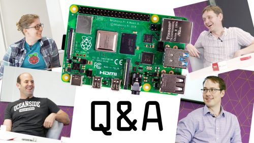 Raspberry Pi Weekly Issue # - We asked our engineers your Raspberry