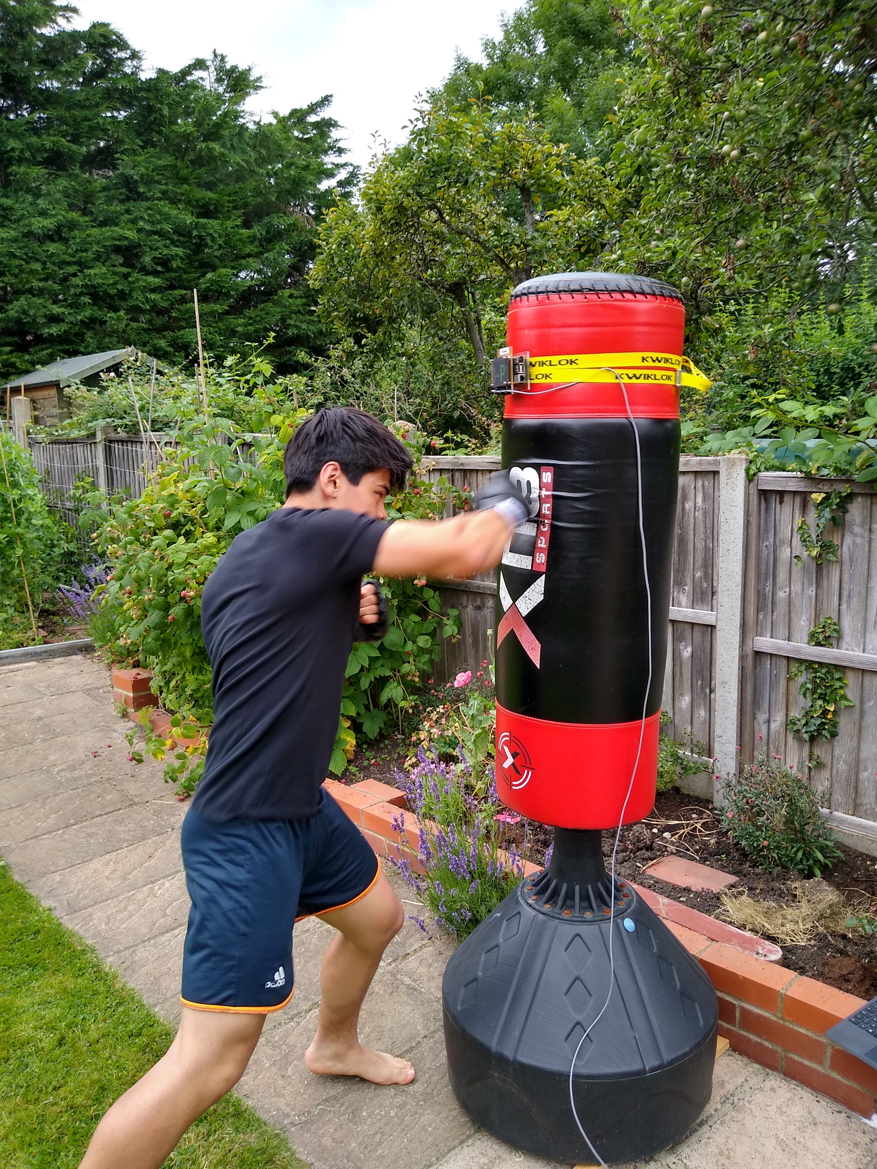 Gamified boxing with Pi Fighter - Raspberry Pi