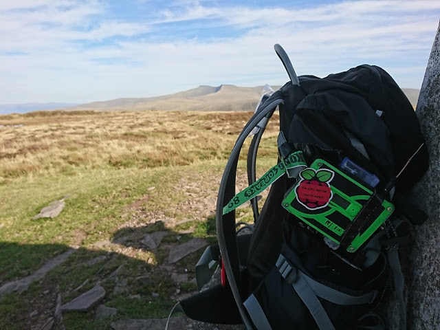 Tracking the Brecon Beacons ultramarathon with a Raspberry Pi Zero