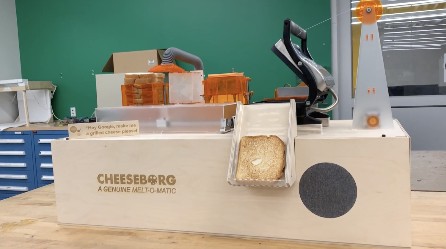 The grilled cheese-making robot of your dreams - Raspberry Pi