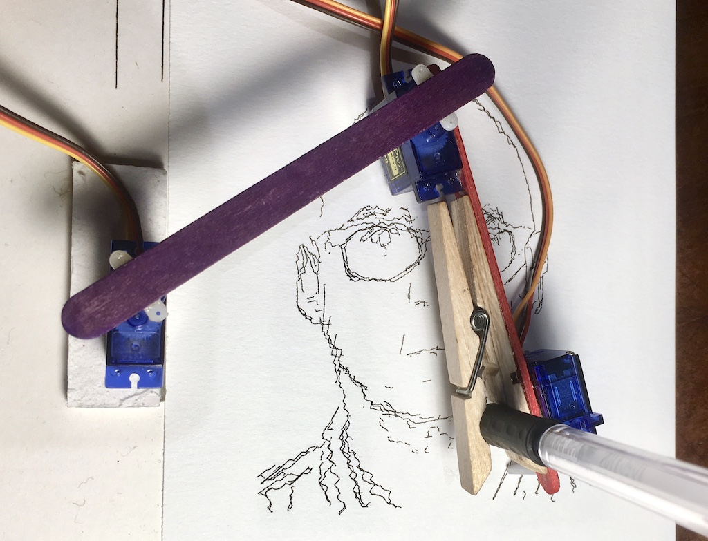 We love a good pen plotter - Raspberry Pi