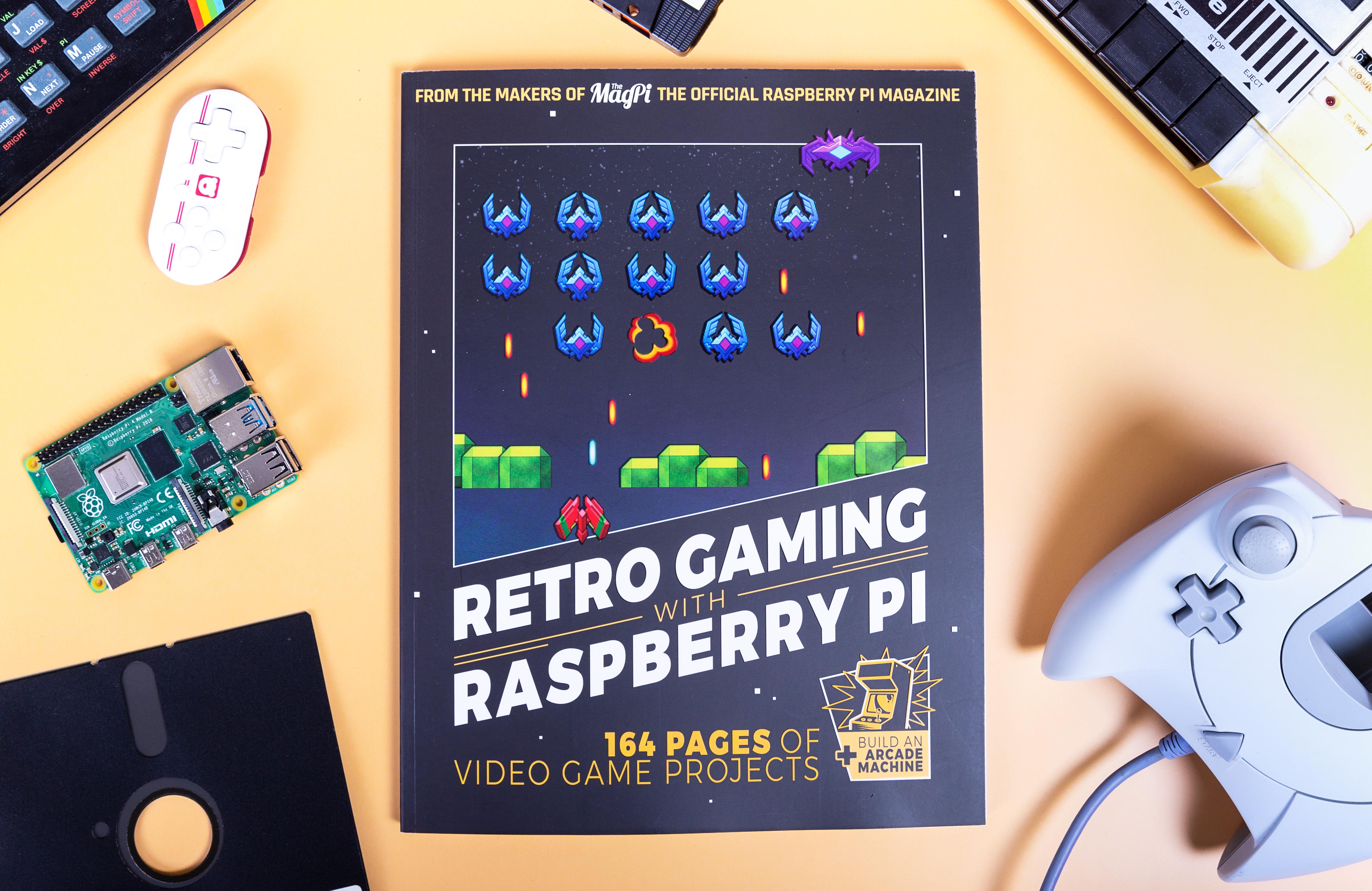New book: Retro Gaming with Raspberry Pi - Raspberry Pi