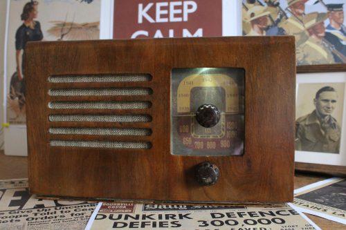 Listen to World War II radio recordings with a Raspberry Pi Zero