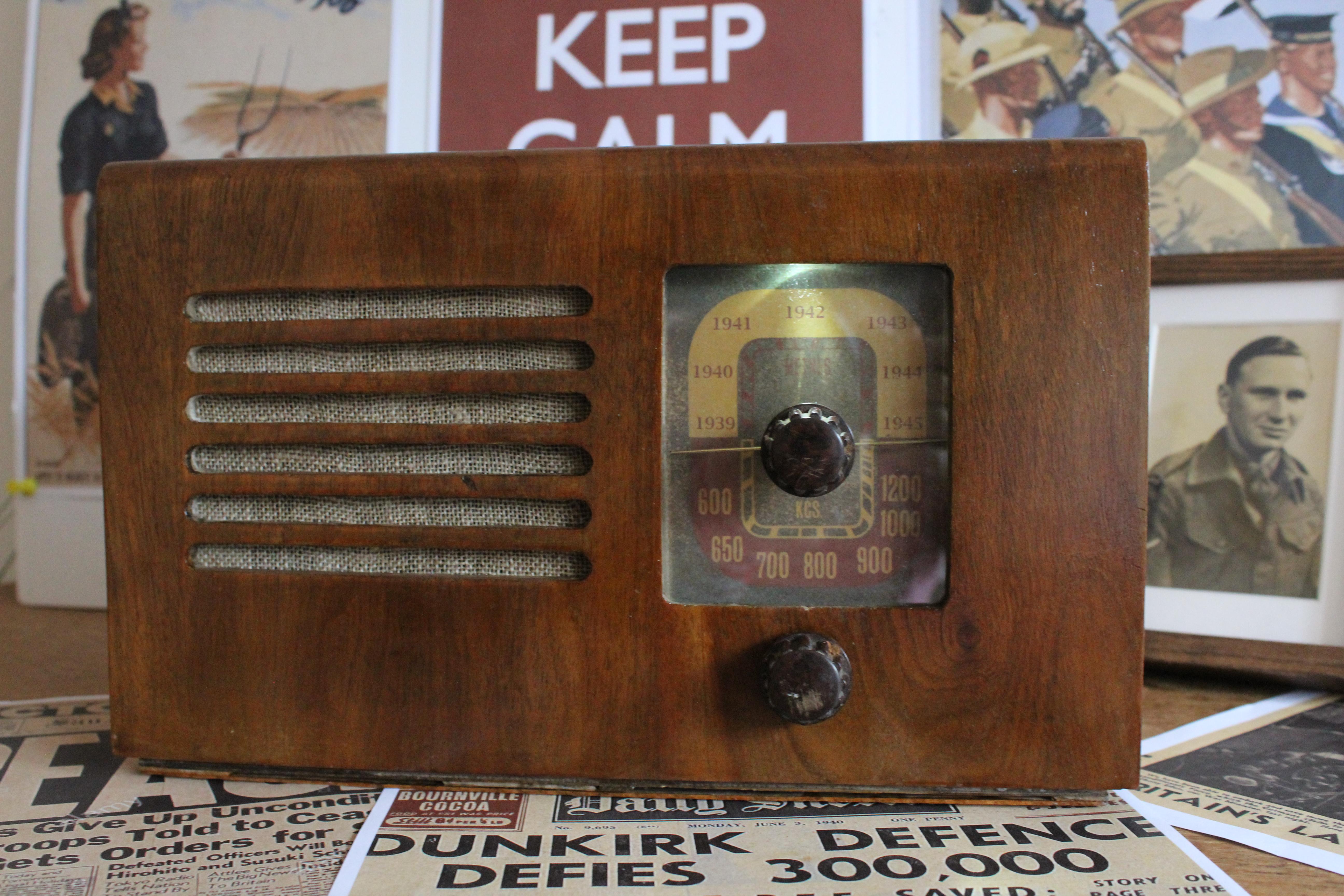 Listen to World War II radio recordings with a Raspberry Pi Zero - Raspberry Pi