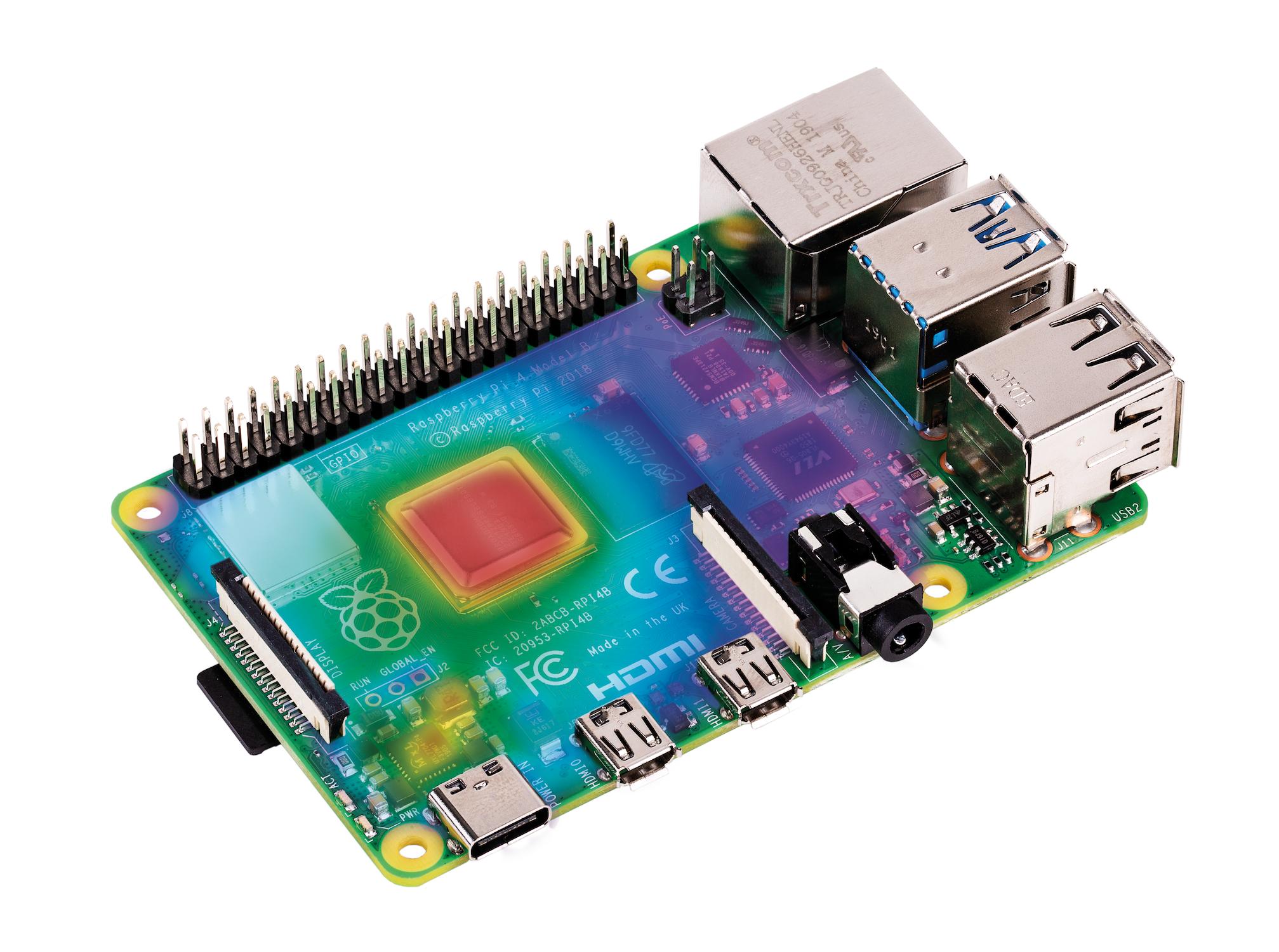 Thermal testing Raspberry Pi 4 - Raspberry Pi