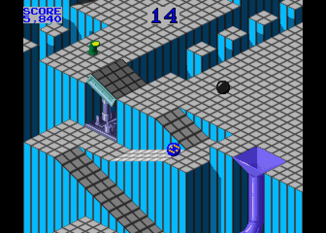 The original Marble Madness