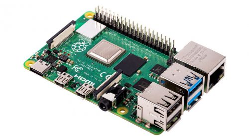 Photograph of Raspberry Pi 4