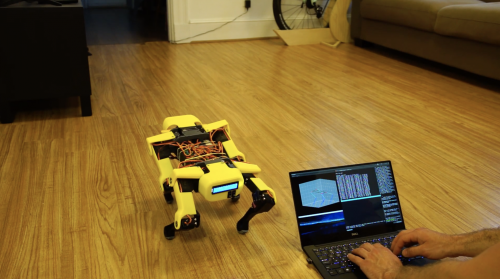Mini Raspberry Pi Boston Dynamics–inspired robot - Raspberry Pi