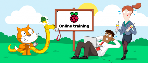 How teachers train in Computing with our free online courses - Raspberry Pi