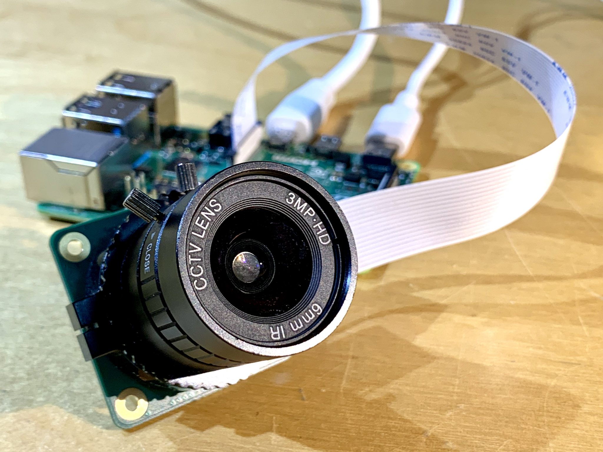 Add face recognition with Raspberry Pi | Hackspace 38