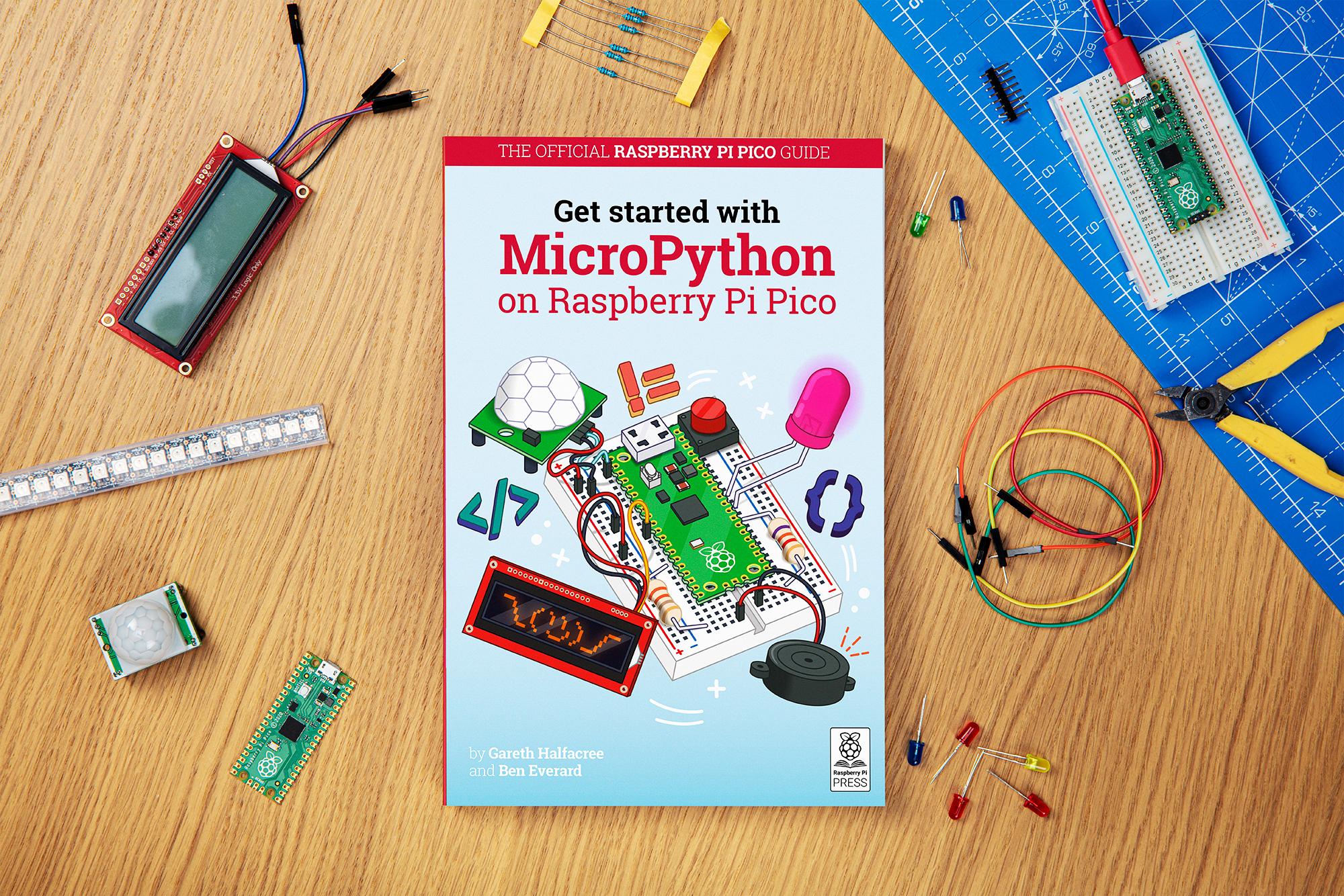 New Book Get Started With Micropython On Raspberry Pi Pico Raspberry Pi