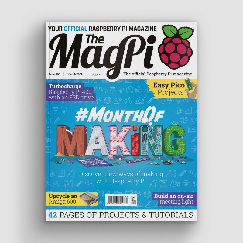 magpi magazine cover issue 103