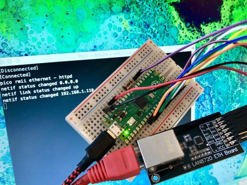 Raspberry Pi Pico and RMII Ethernet PHY