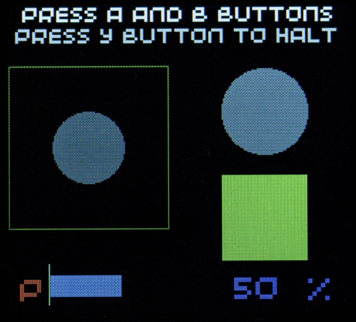 The four buttons give you a way of getting data back from the user as well as displaying information