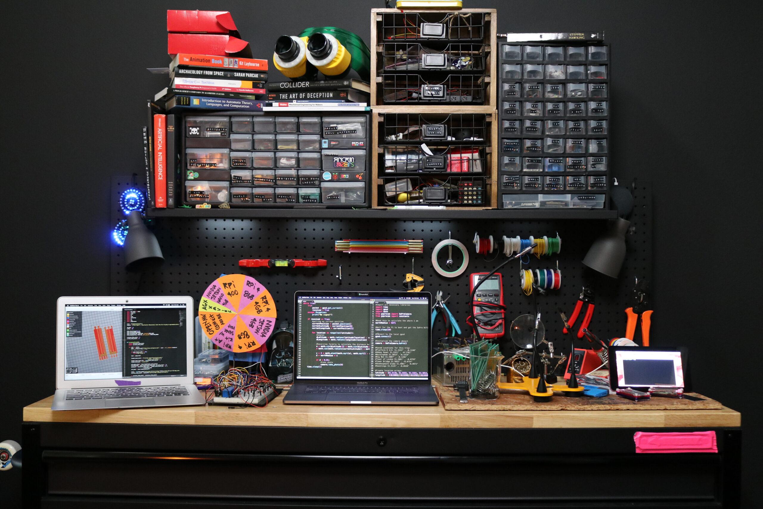 Estefannie's desk