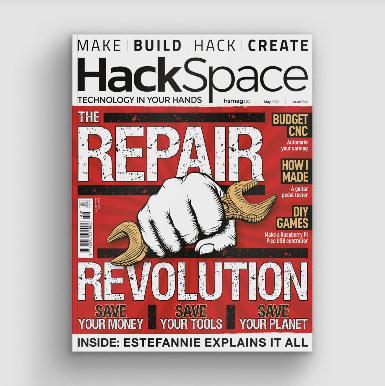Custom USB games controllers with Raspberry Pi Pico | HackSpace 42