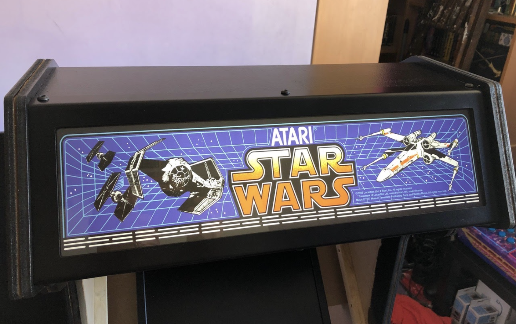 Star Wars Arcade Cabinet | The MagPi #105