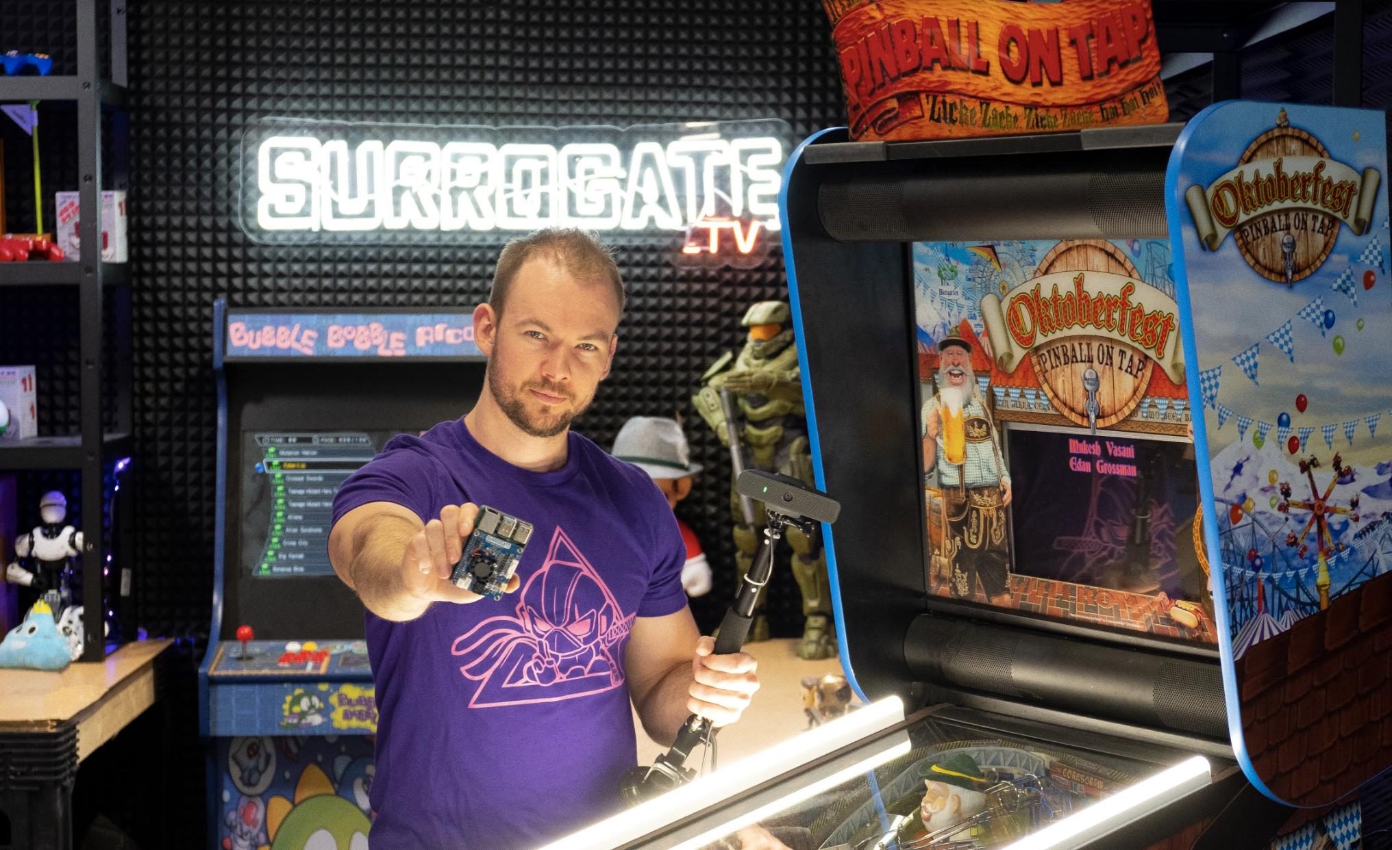 surrogate.tv oktoberfest pinball machine