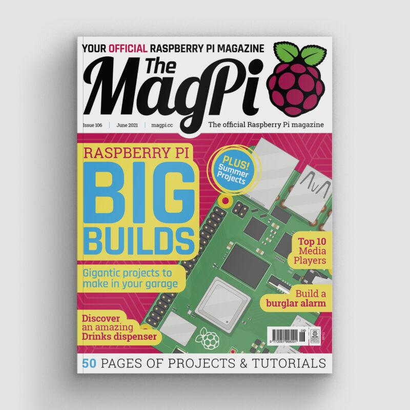 magpi magazine issue 106 cover