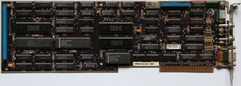 IBM EGA card