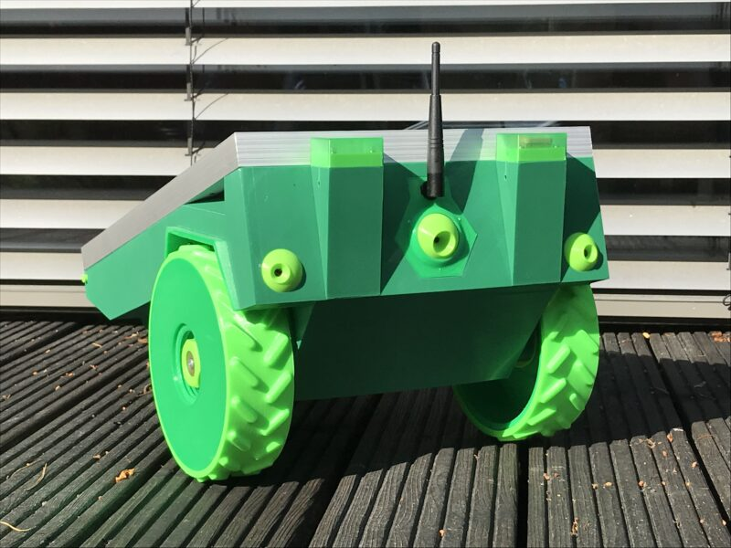 Sit back, put your feet up, and enjoy the sunshine while PiMowBot takes care of mowing your lawn