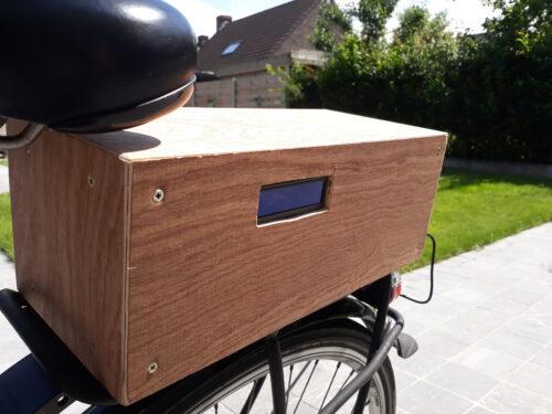 smart bike side view of box