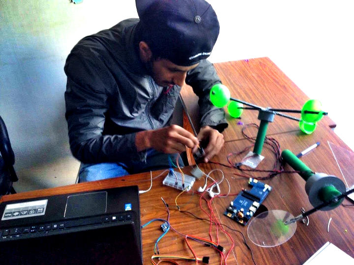 nepal weather station being built