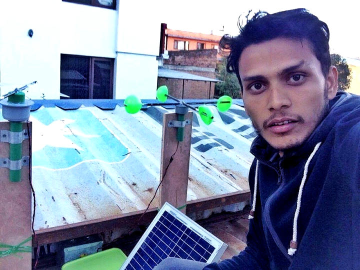 nepal weather station in action