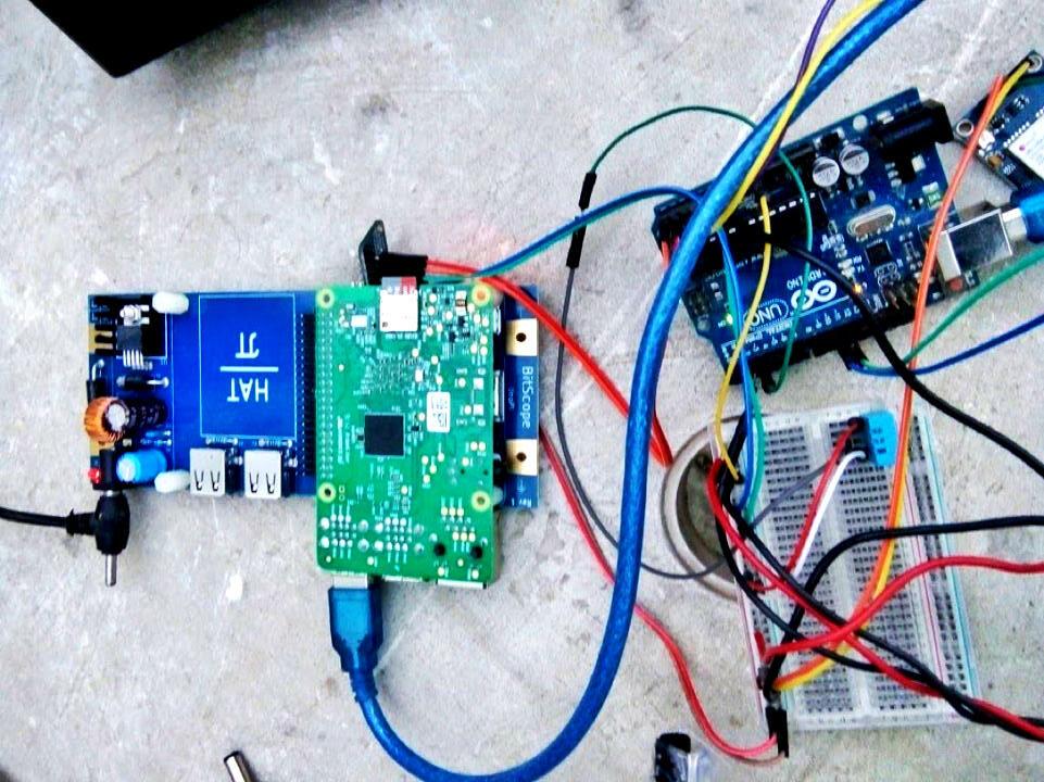 nepal weather station hardware insides