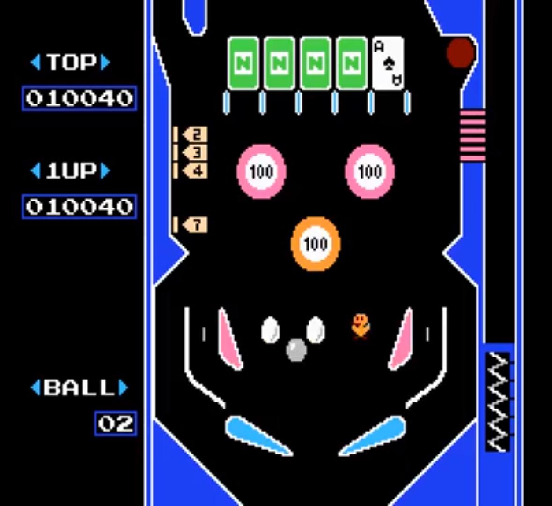 NES Pinball