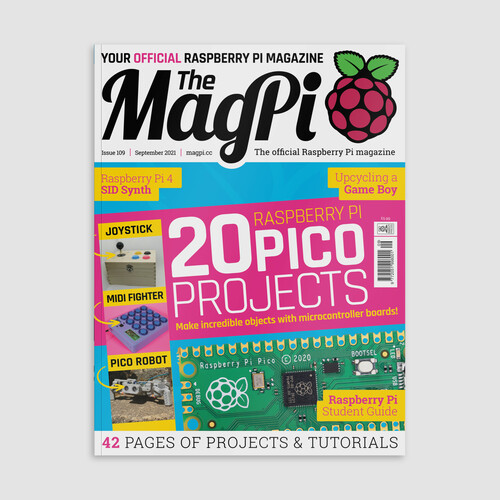 magpi 109 front cover