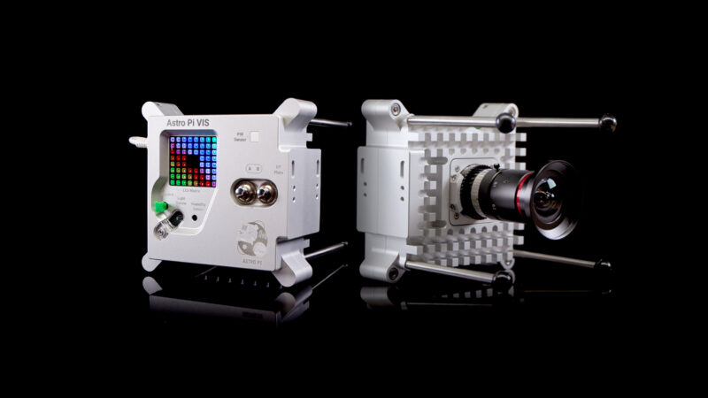 Astro Pi MK II hardware.