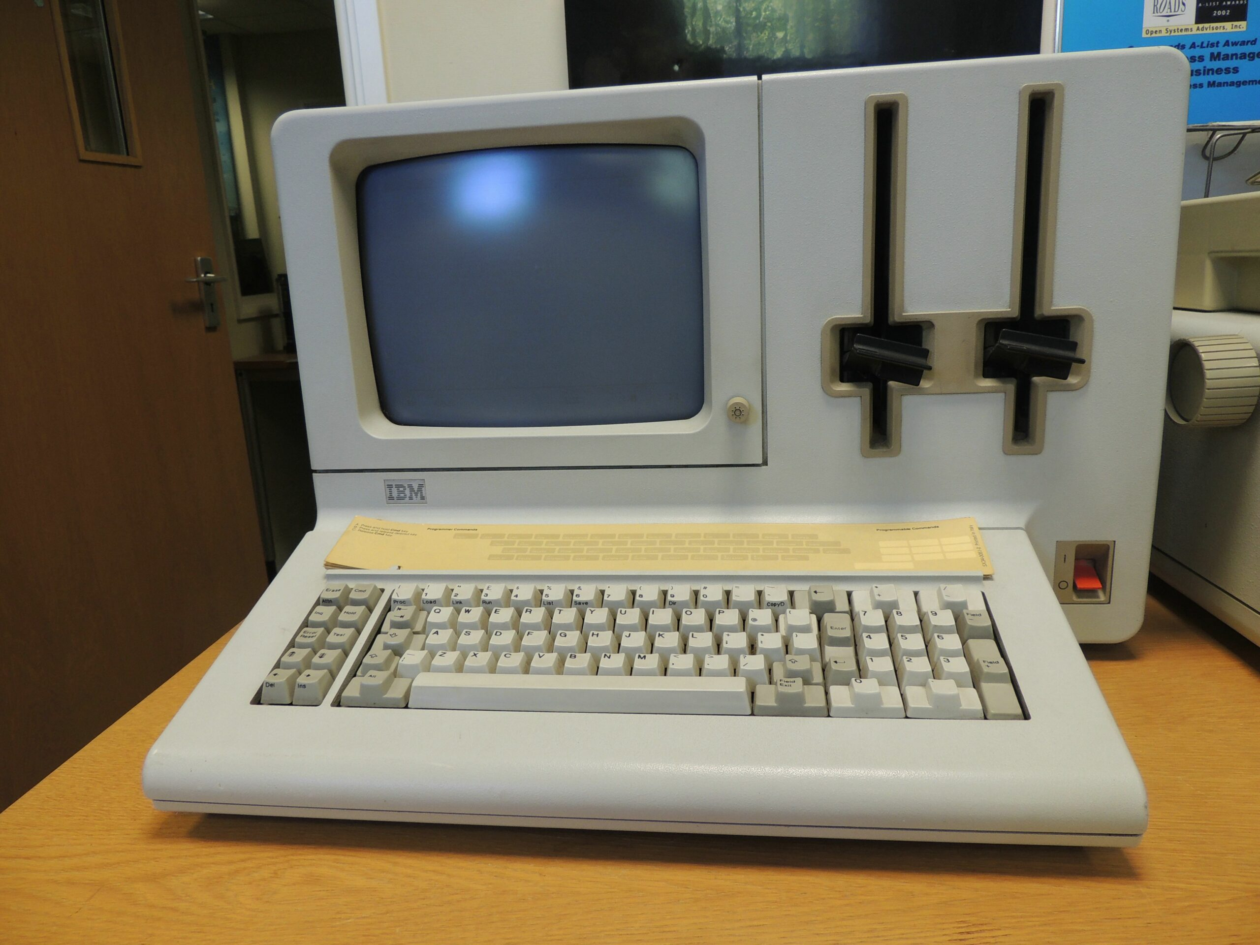 IBM's System 23 Datamaster, pictured here at the IBM Hursley Museum, cost $9,000 US