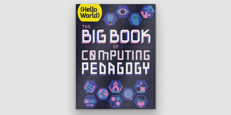 Cover of The Big Book of Computing Pedagogy.